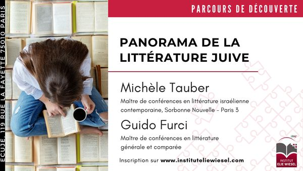 La prose hébraïque au féminin: une longue gestation, avec Michèle Tauber