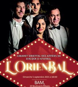 Concert dansant L'OrienBal, avec la compagnie Transmosaïk