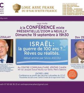 Israël, la guerre de 100 ans? rêves ou réalités, avec André Azoulayet Dov Zerah