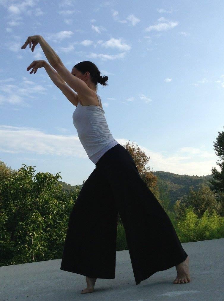 LaTehima:  danse des lettres hébraïques, avec Lara Bruhl