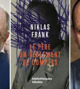 Un héritage nazi: ce que nos pères ont fait, avec Niklas Frank et Philippe Sands