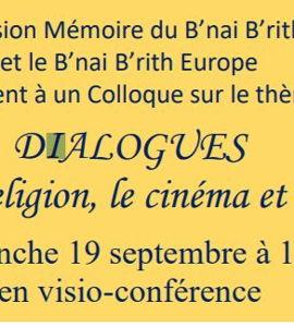 Dialogues dans la religion, le cinéma et les arts