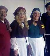 Visite semi guidée en costumes du moyen Âge