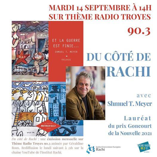 Du côté de Rachi: Et la guerre est finie, avec Shmuel Thierry Meyer