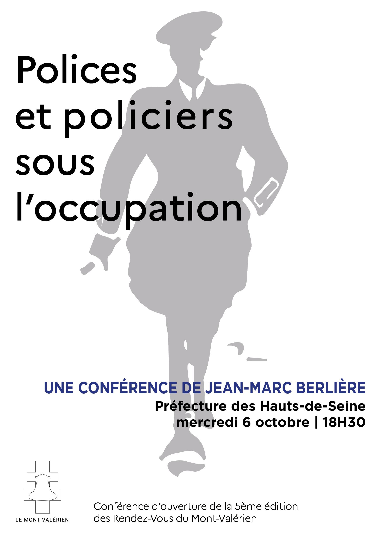 Polices et policiers sous l'occupation, avec Jean-Marc Berlière