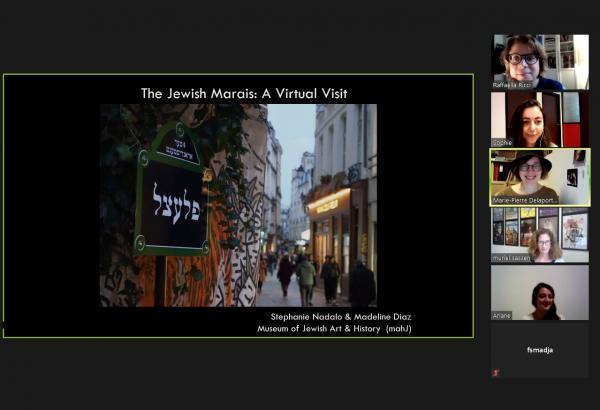 Online Discovery of the Jewish Marais, Paris, by Madeline Diaz or Stéphanie Nadalo