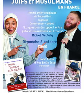 La question du rapport entre juifs et musulmans de France, avec Michel Serfaty