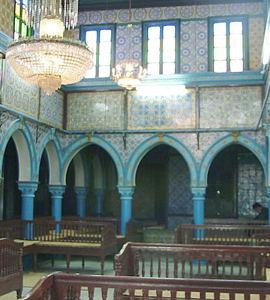 Tunisie La synagogue de la Ghriba