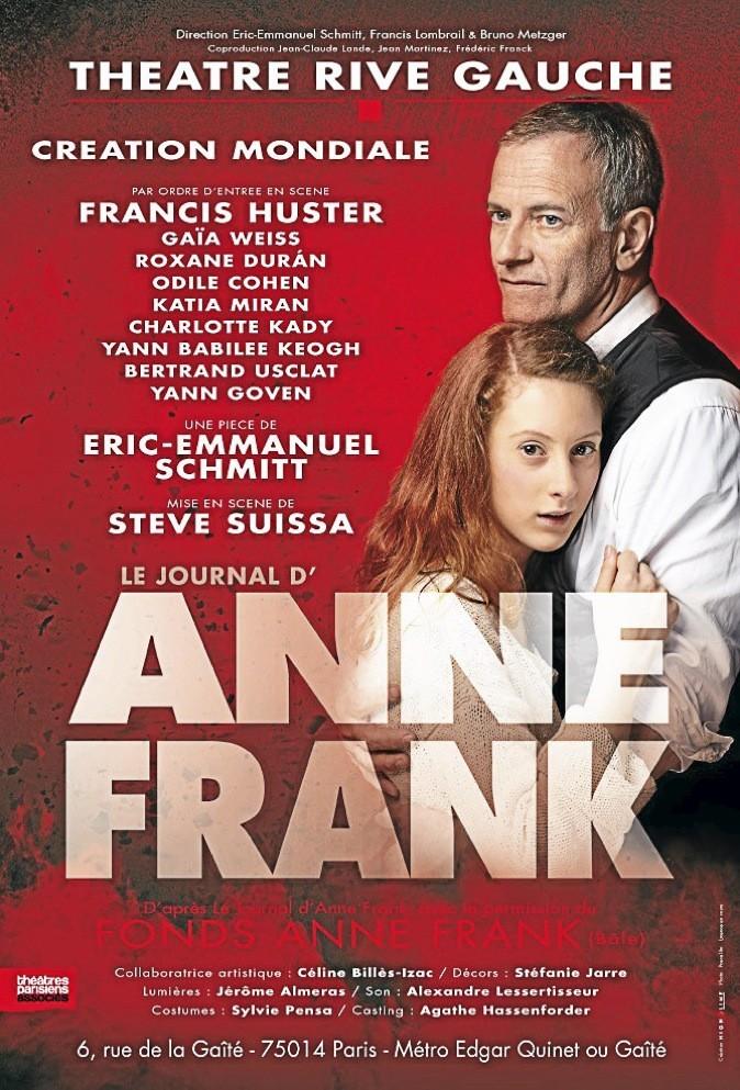 Le journal d'Anne Franck, d'Eric-Emmanuel Schmitt