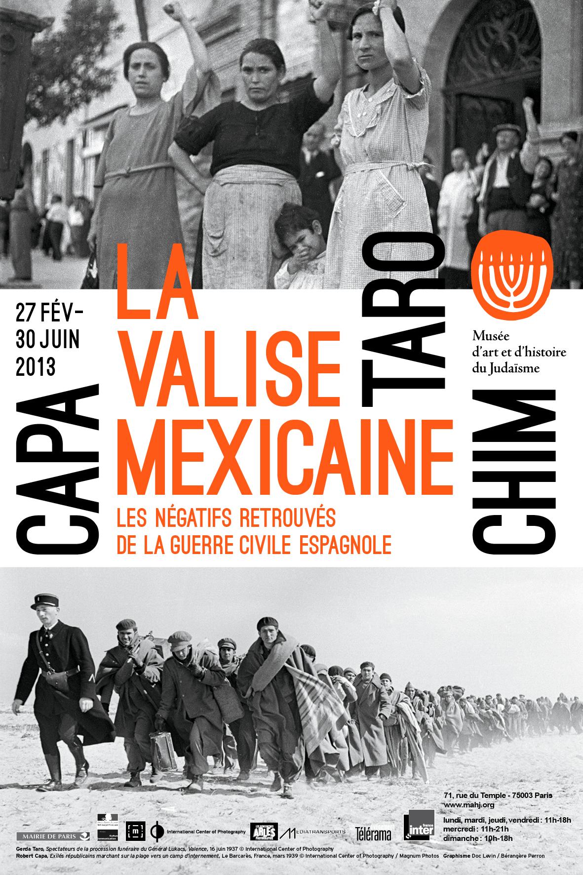 La valise mexicaine: Capa, Taro, Chim