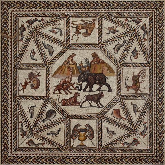 La Mosaïque romaine de Lod