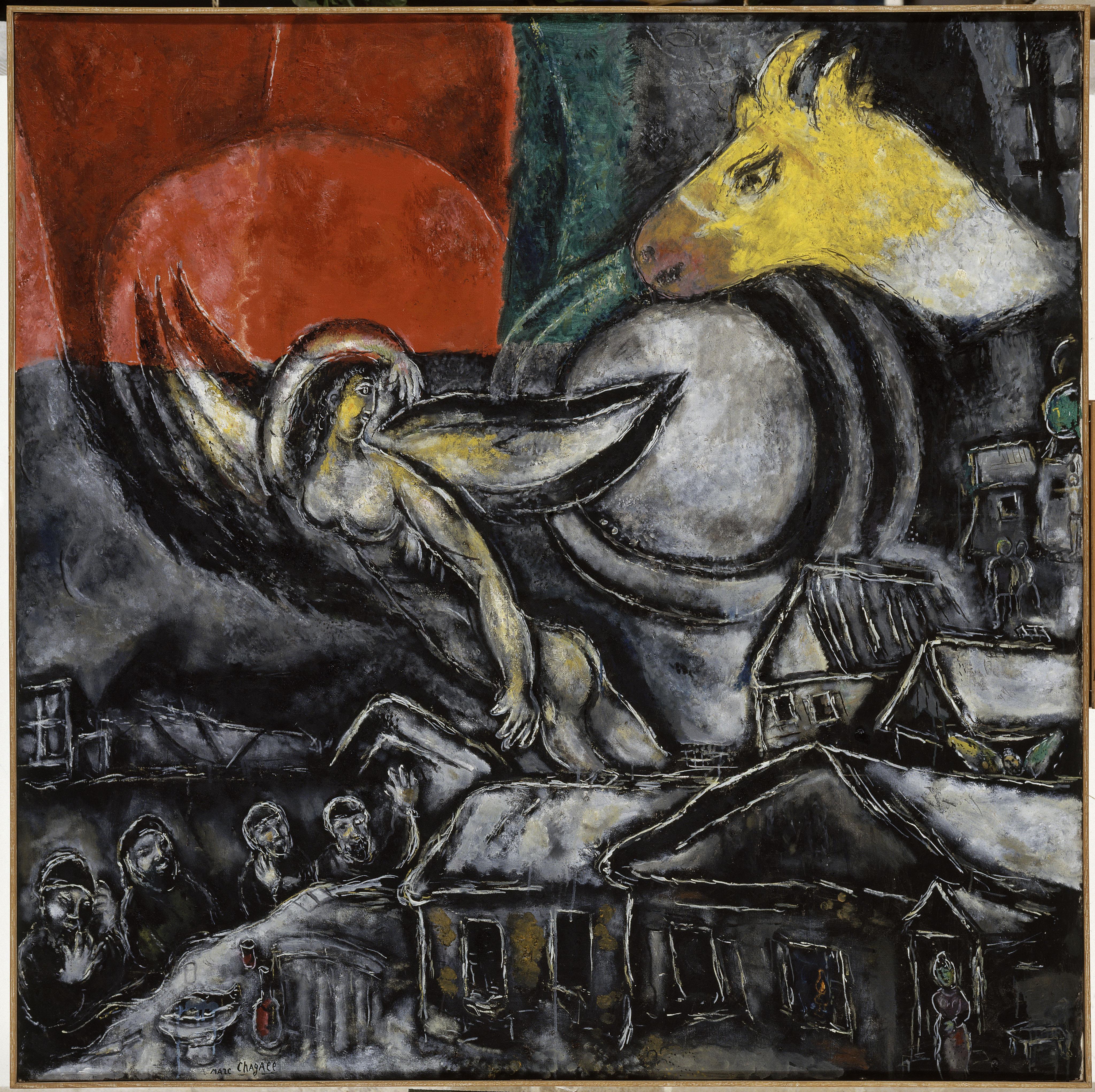 Quand Chagall était enfant (Ateliers enfants 4-7 ans)