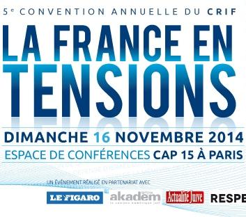 5e Convention nationale du CRIF