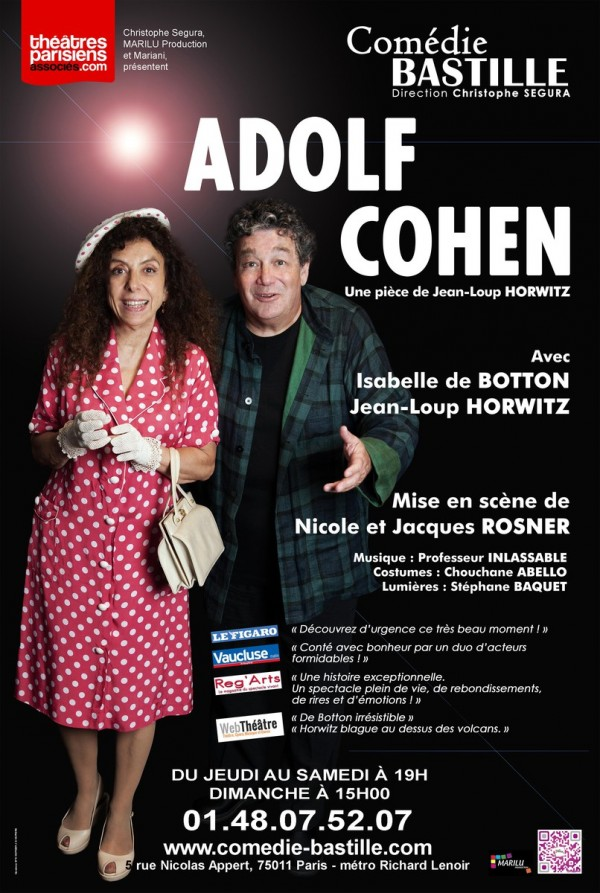 Adolf Cohen, de Jean-Loup Horwitz