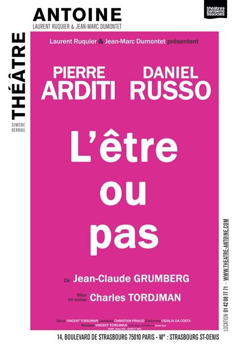L'être ou pas, de Jean-Claude Grumberg