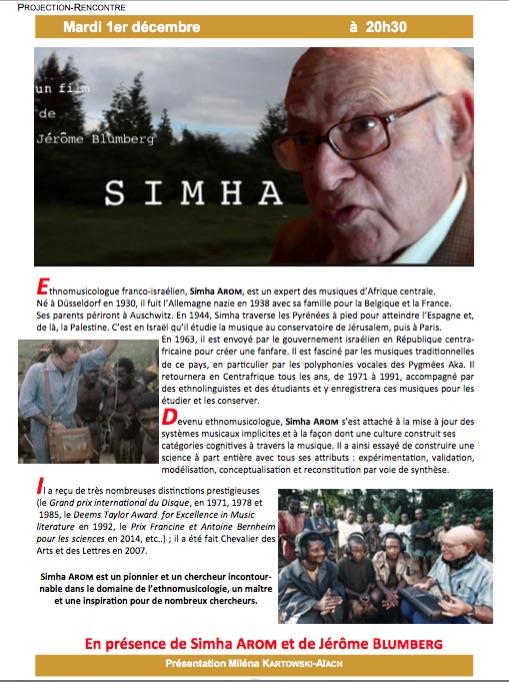 Documentaire: Simha