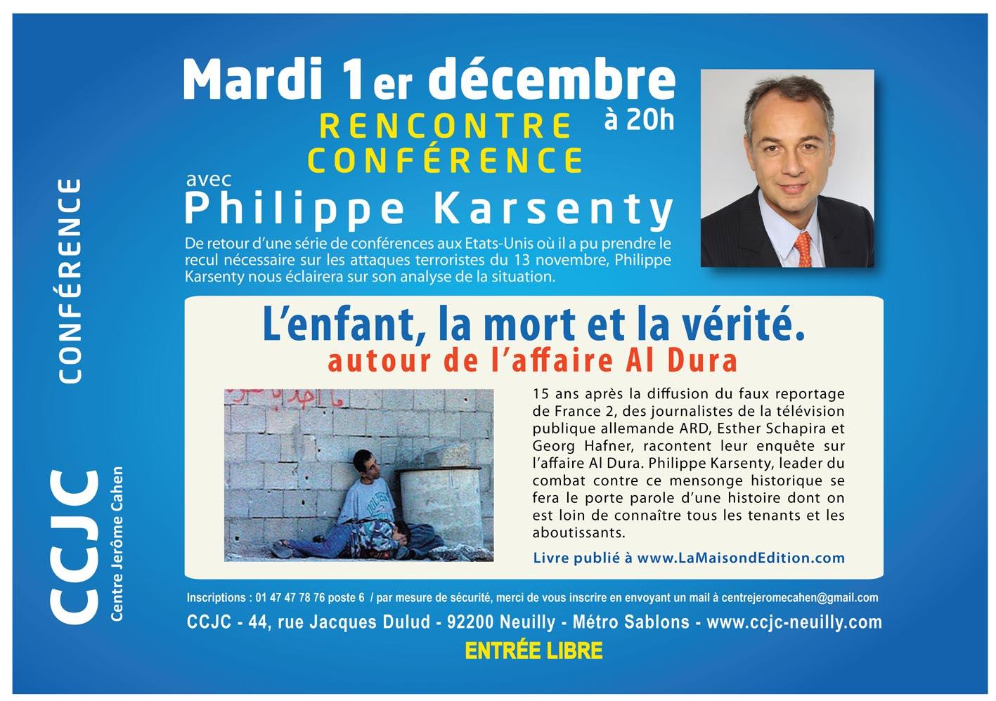 L'enfant, la mort et la vérité, avec P. Karsenty