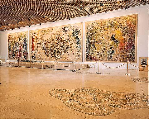 Chagall, de la palette au métier