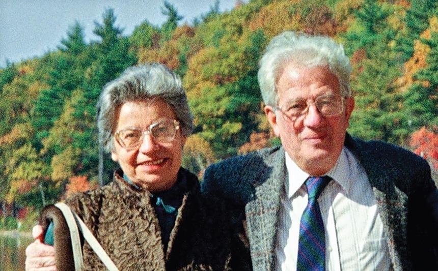 En mémoire de Szulim et Lena Rozenberg