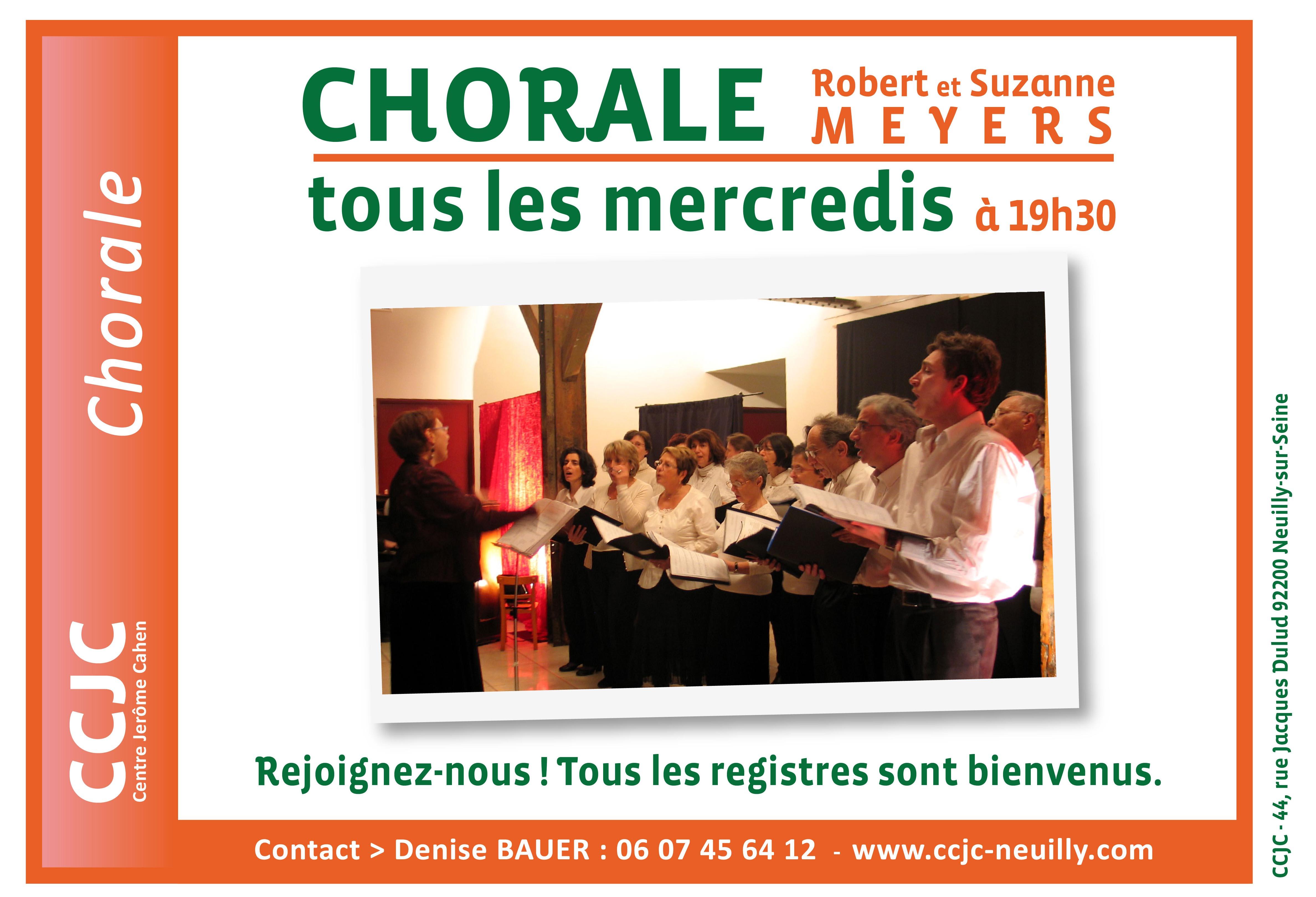 Chorale Robert et Suzanne Meyers, avec Rosy Farhat