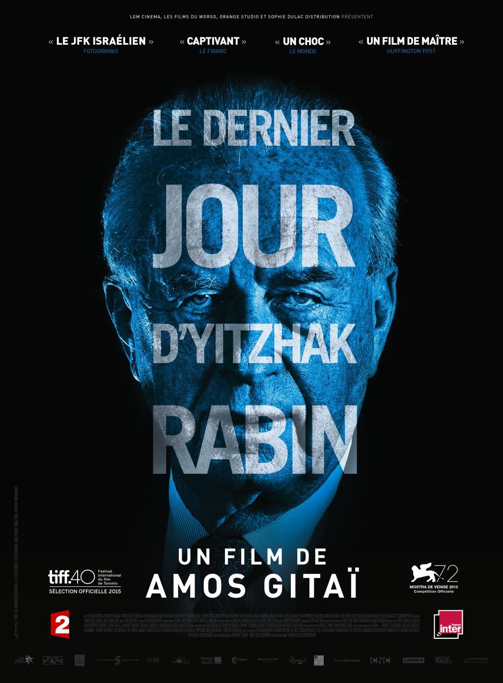 Film: Le dernier jour d'Yitzhak Rabin, d'Amos Gitaï