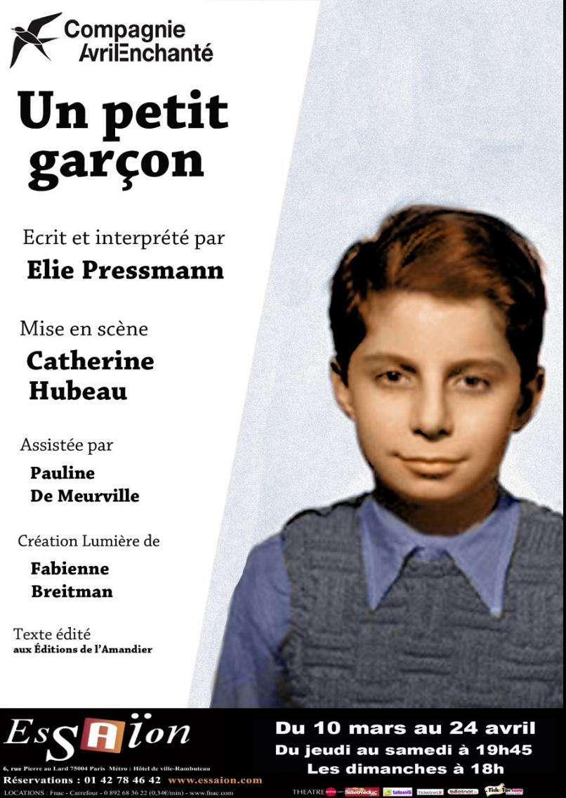 Un petit garçon, de Elie  Pressmann