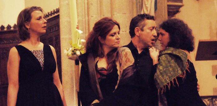 Carabanchel avec Agnes Jaoui & l'ensemble canto allegre