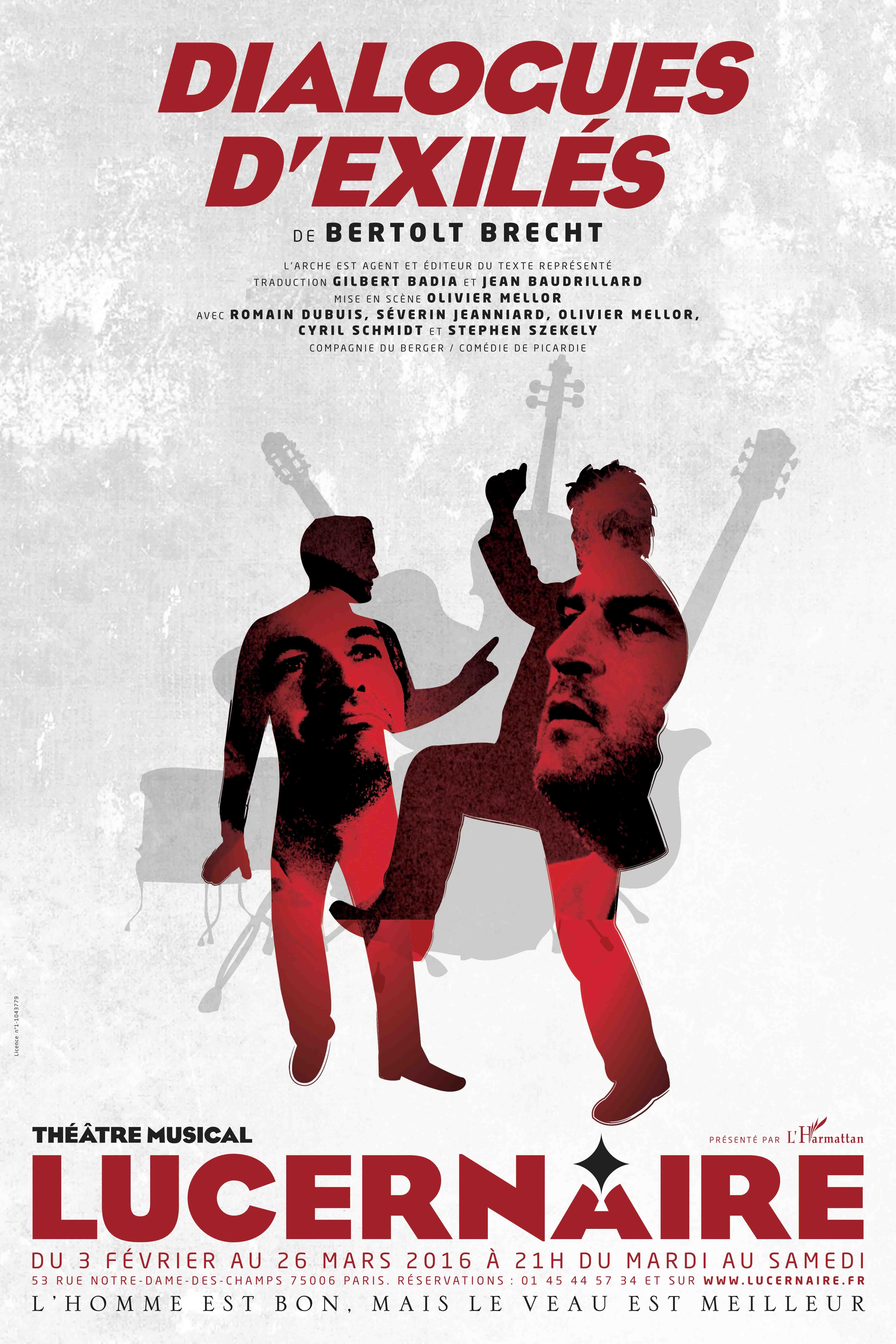Dialogues d'exilés, de Bertolt Brecht