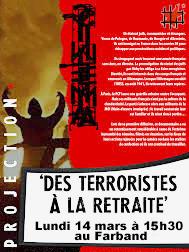 Documentaire: des terroristes à la retraite, de Mosco Boucault