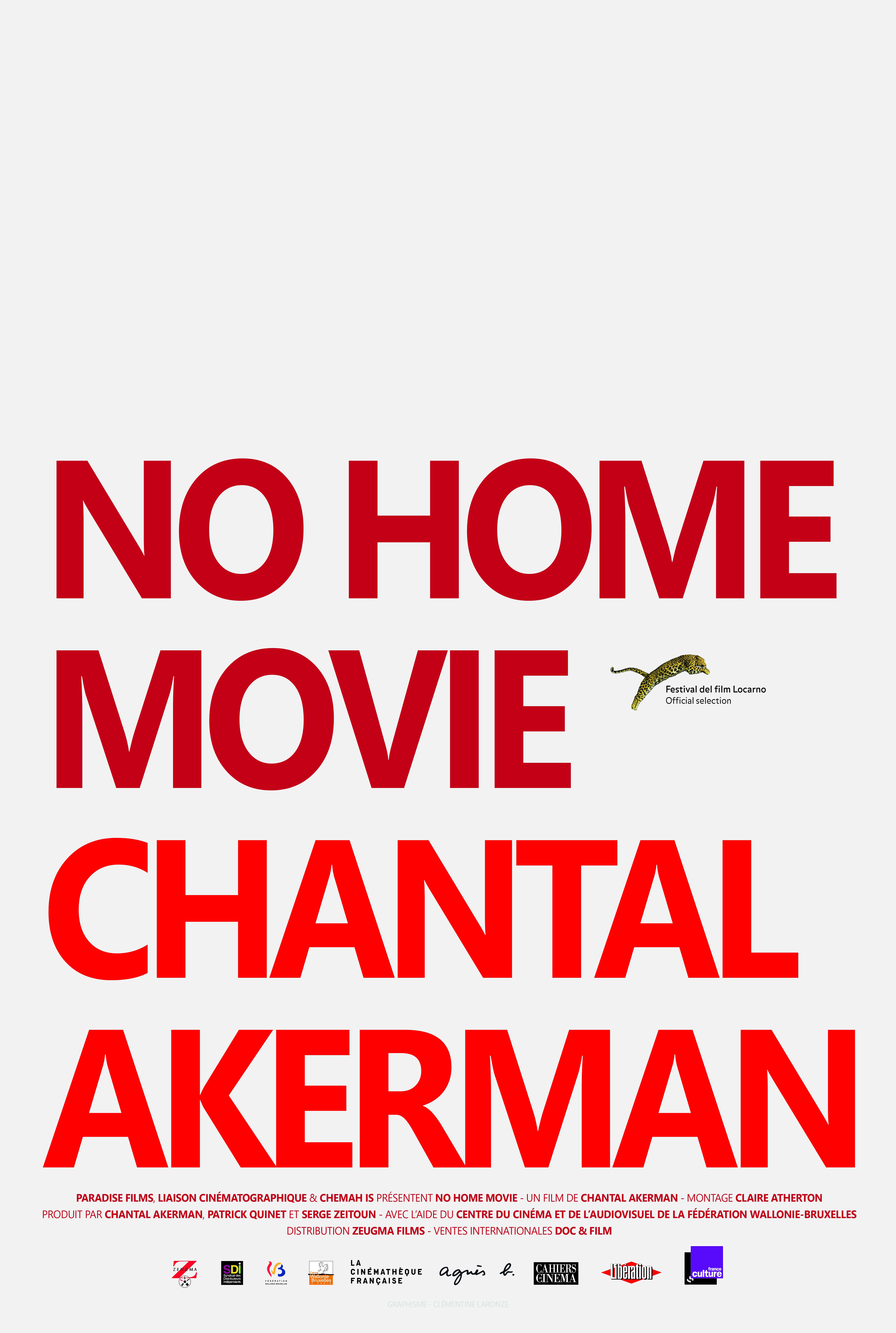 Documentaire: No Home Movie, de Chantal Akerman