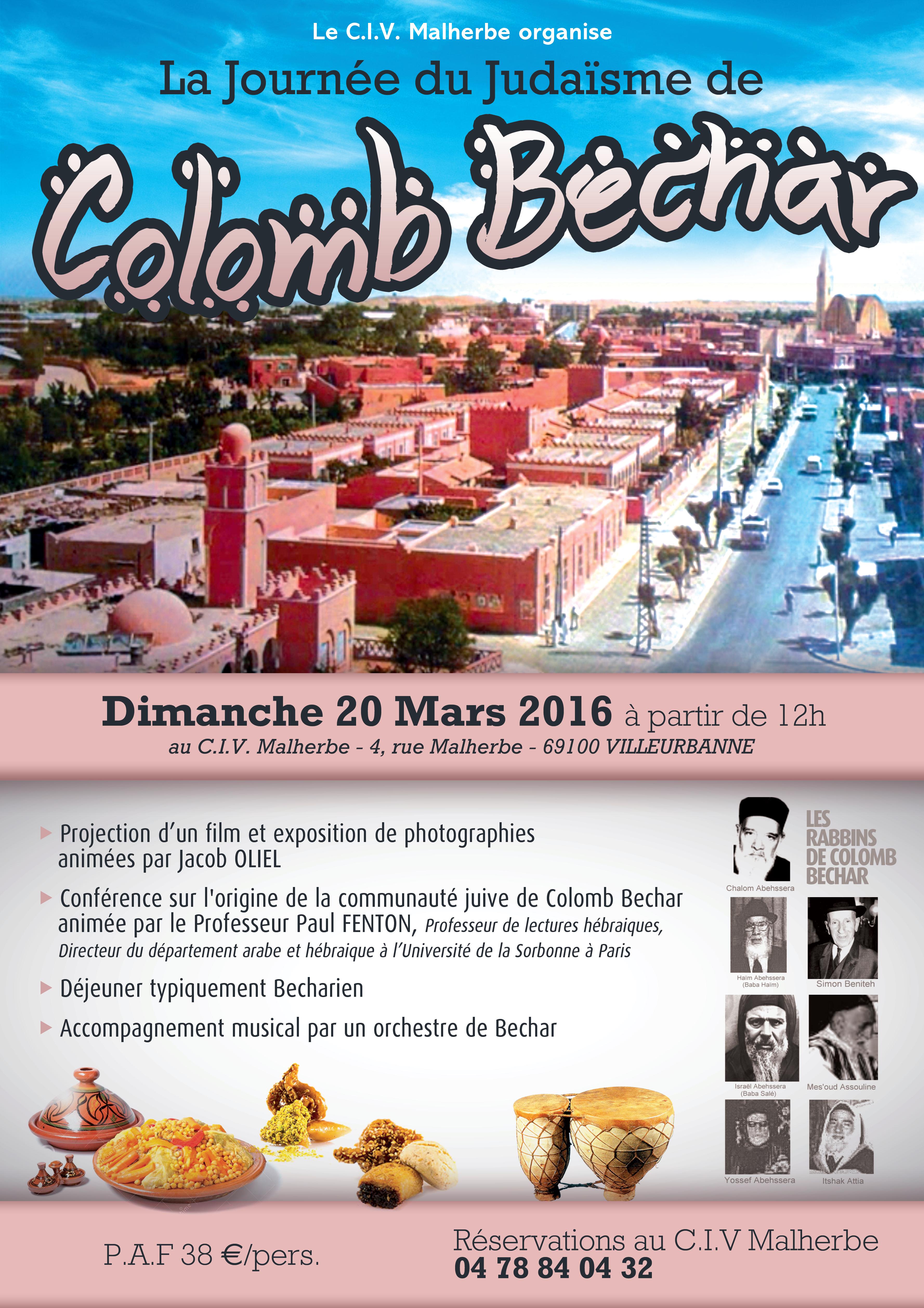 Journée du judaïsme de Colomb Bechard