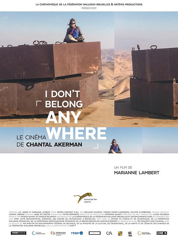 Documentaire: Le cinéma de Chantal Akerman, de Lambert Marianne