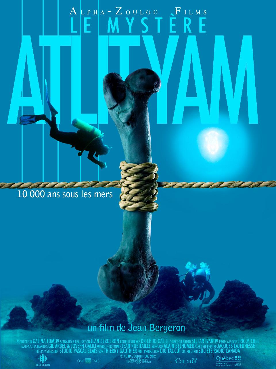 Documentaire : Le mystère Atlit Yam, de Jean Bergeron
