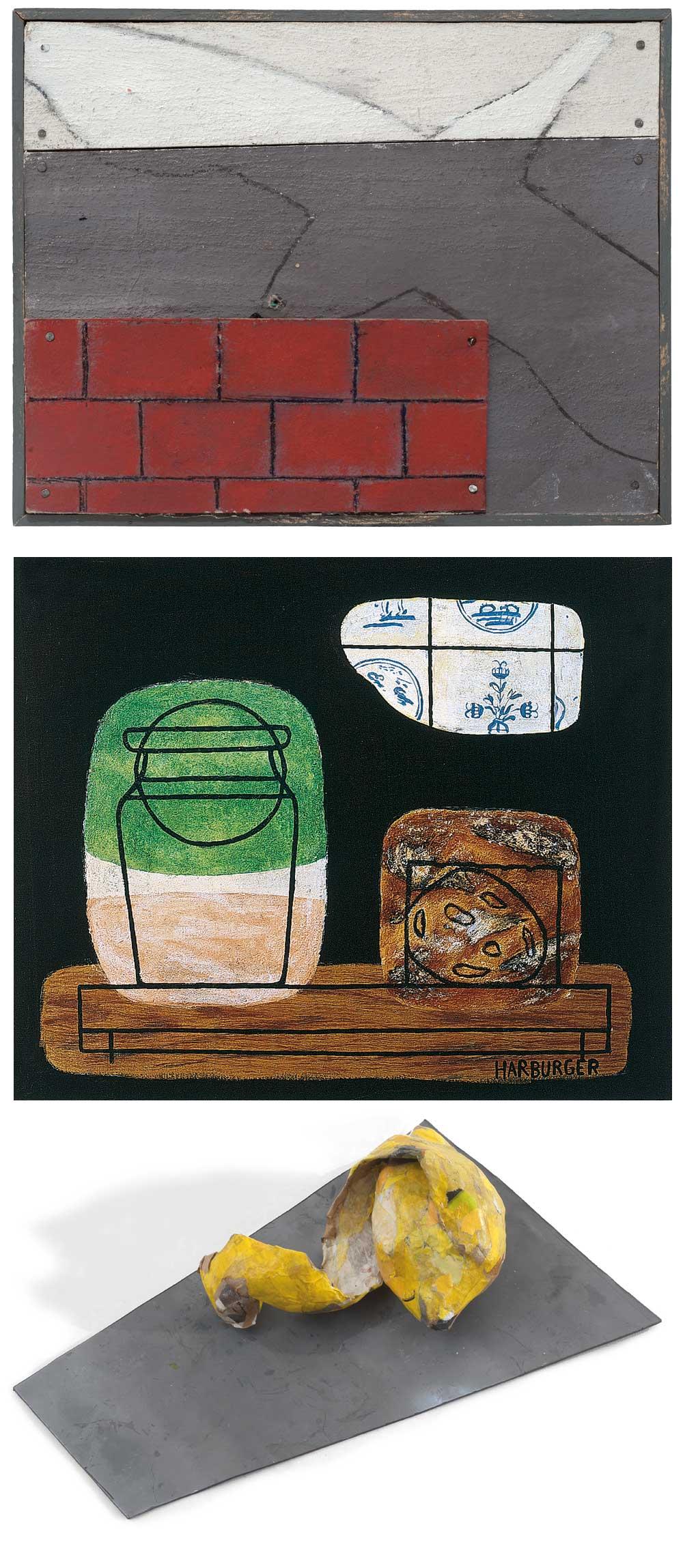 Exposition Pierre Buraglio - Francis Harburger - Claude Buraglio (Peintures et installations)