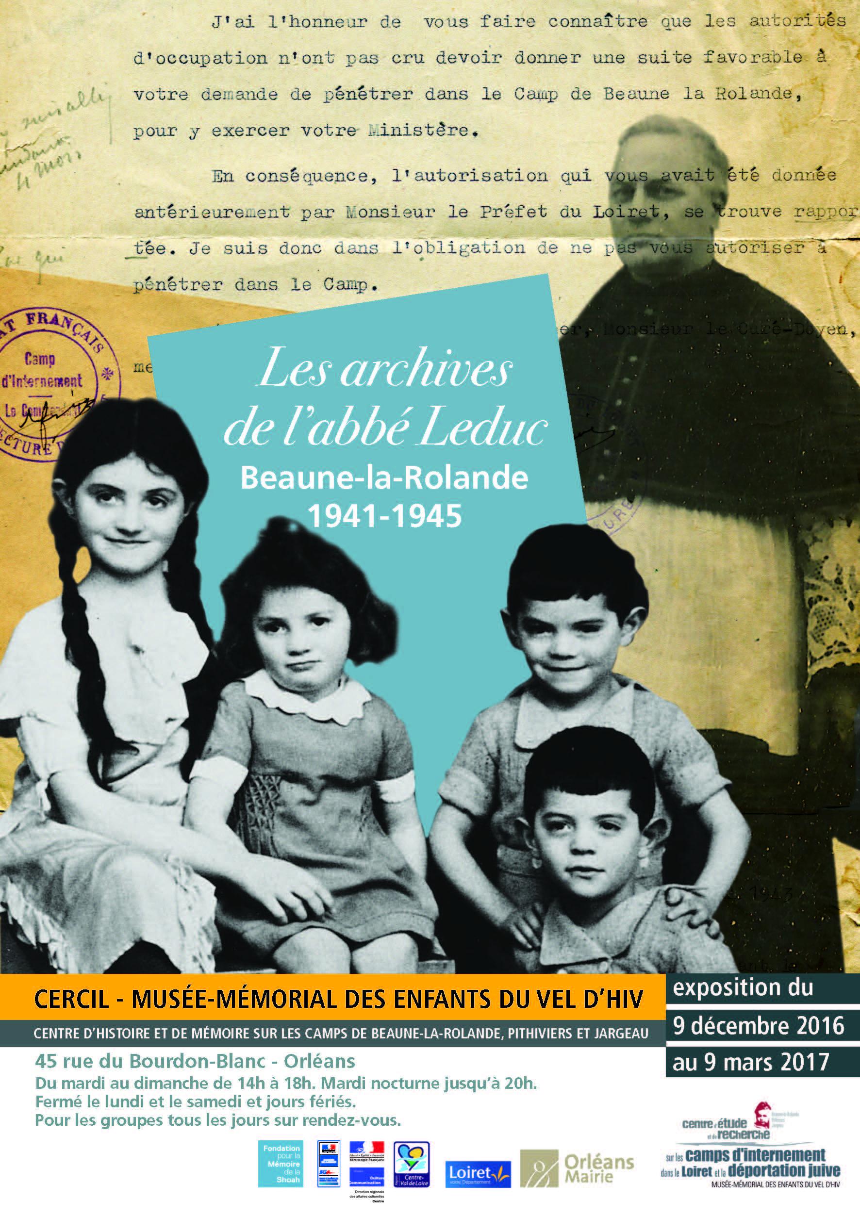 Les archives de l'abbé Leduc,  Beaune-la-Rolande, 1945-1941 - Visite guidée, avec François Maurin