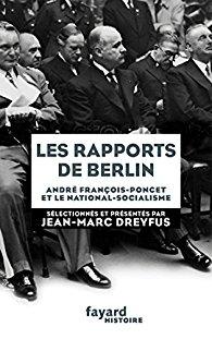 Les rapports de Berlin, de Jean-Marc Dreyfus