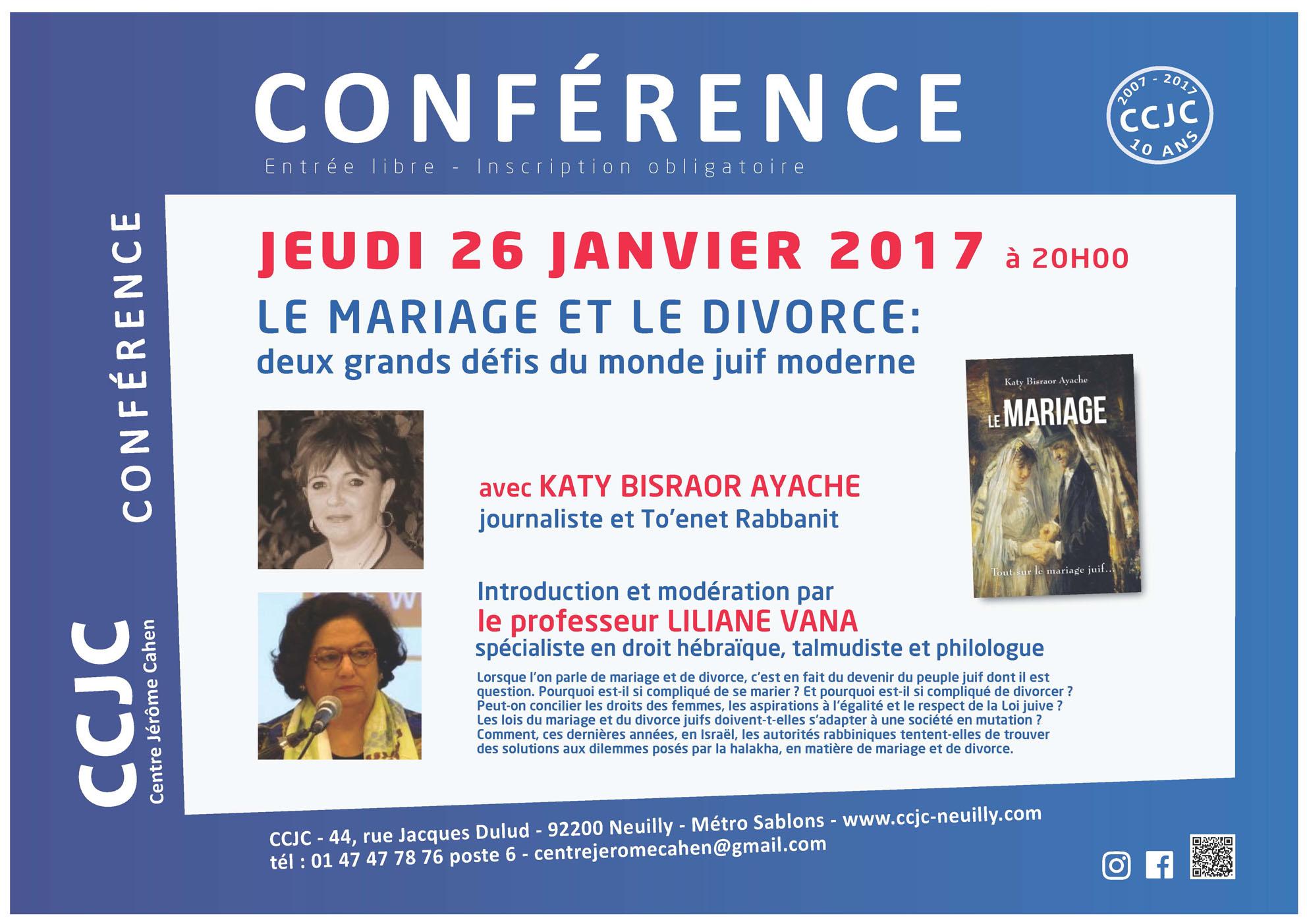 Mariage et divorce, les deux grands défis du monde juif moderne
