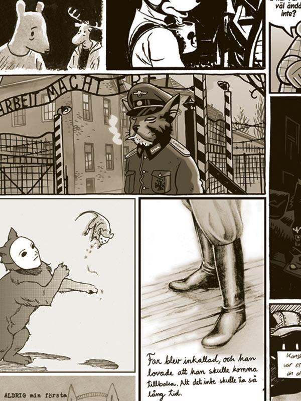 Mus / Mouse / Maus - Variations par des auteurs de bande dessinée suédois autour de l'oeuvre d'Art Spiegelman
