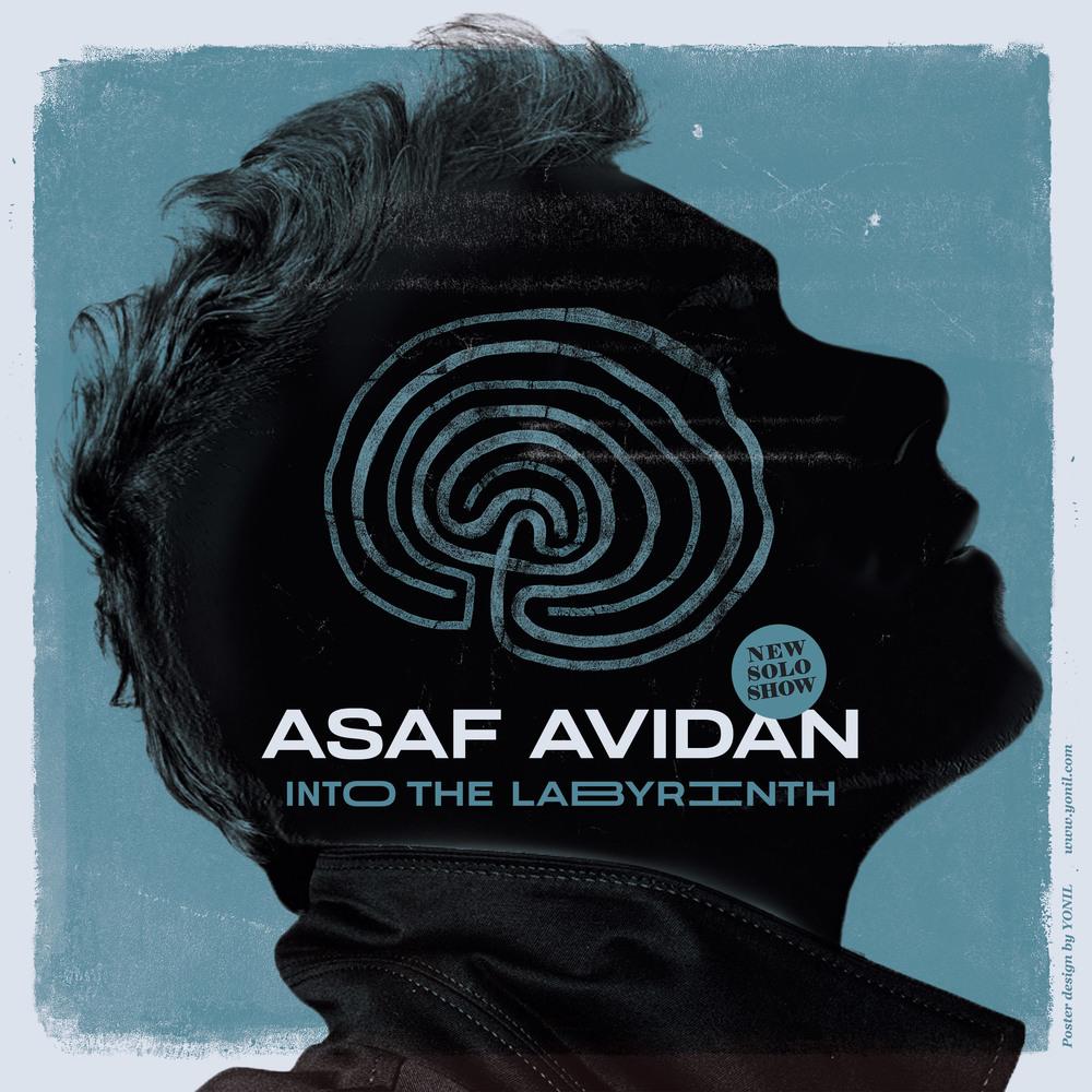 Folk - Into The Labyrinth Tour, avec Asaf Avidan