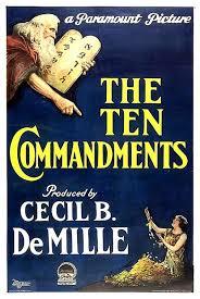 Les 10 commandements, de l'Exode à la terre promise, d'Arnaud Petit