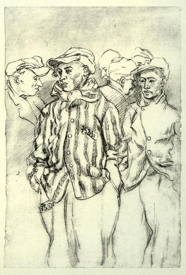 Chroniques interdites - Résister par l'art et la littérature, 1940-1945 (Peintures, dessins, textes)