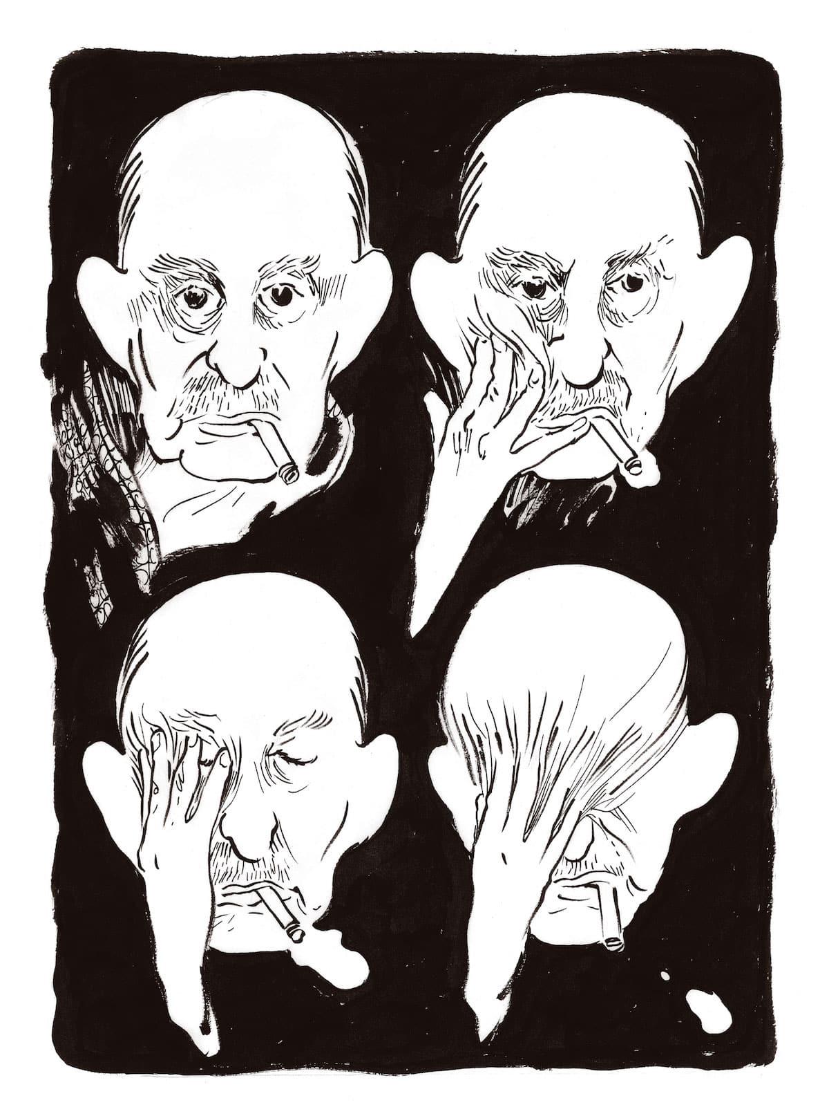 Ô vous, frères humains - Luz dessine Albert Cohen (Dessins)