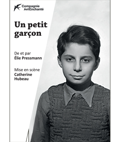 Un petit garçon, une pièce d'Elie Pressmann