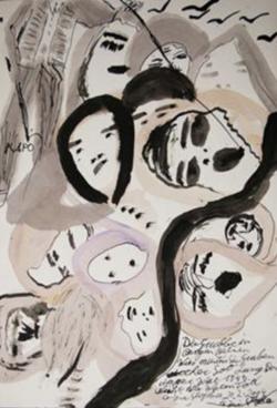 Ceija Stojka (Peinture)