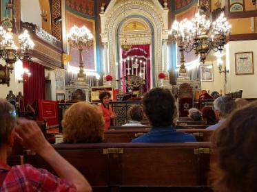 Découvrir une synagogue, avec Yaële Baranes