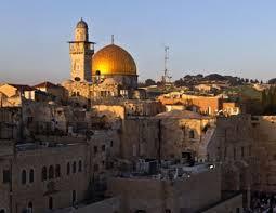 Jérusalem à l'aube, de Sabine Streckhardt