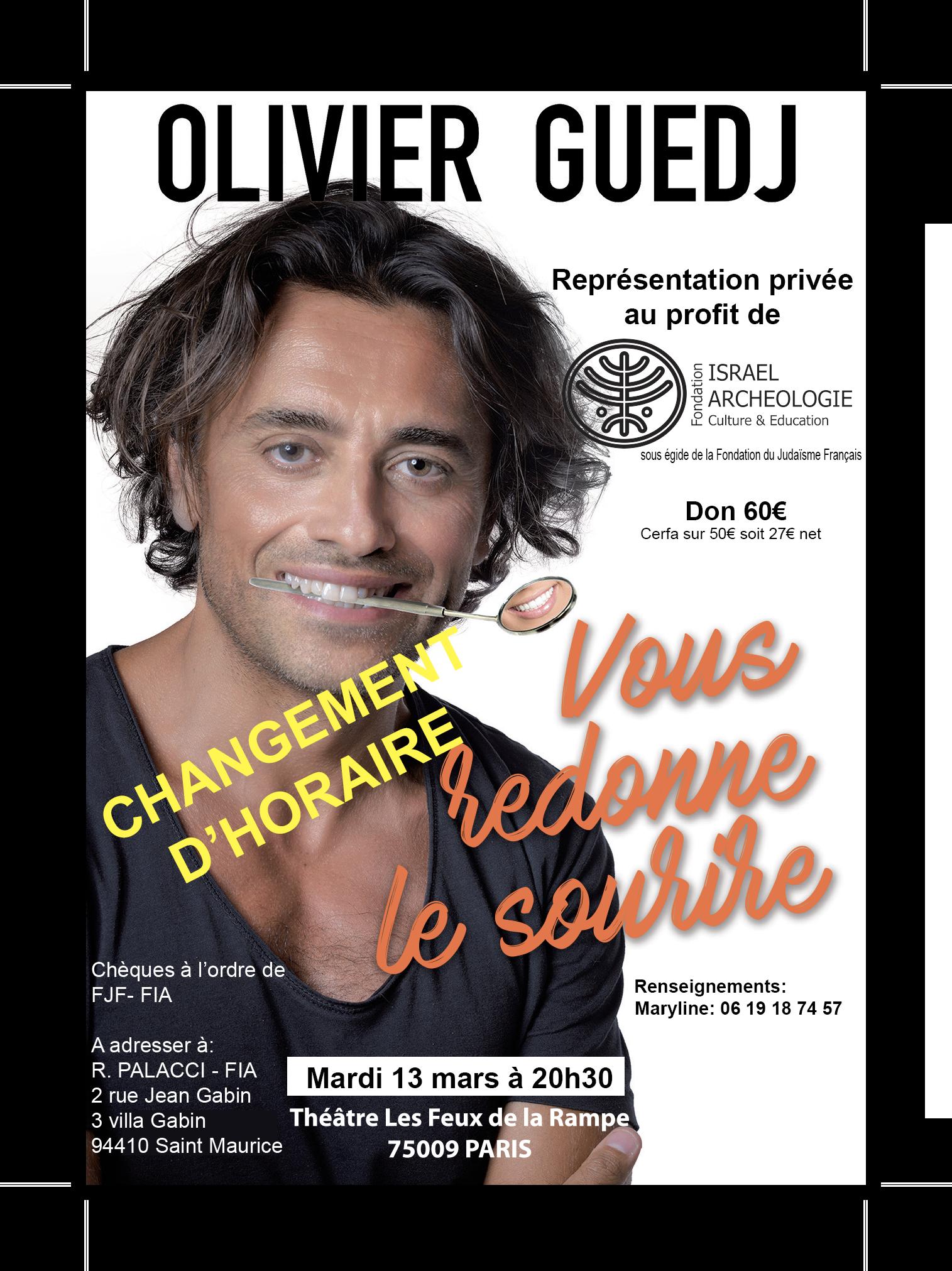 Olivier Guedj - Vous redonne le sourire