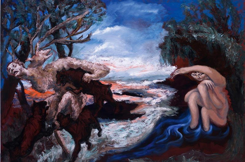 Diane et Actéon, de Gérard Garouste (Peintures)