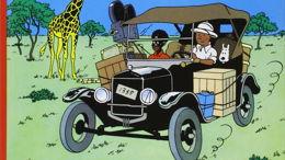 Tintin à l'heure de la colonisation