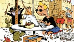 Hergé et la caricature politique